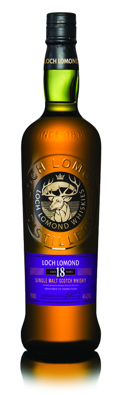 Loch Lomond 18 Year single malt scotch whisky - Loch Lomond Group portfolio