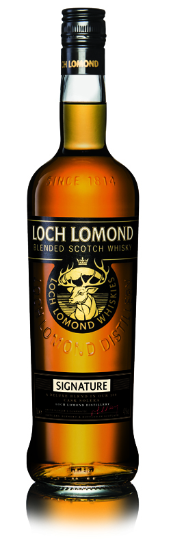Loch Lomond Signature blended scotch whisky - Loch Lomond Group portfolio