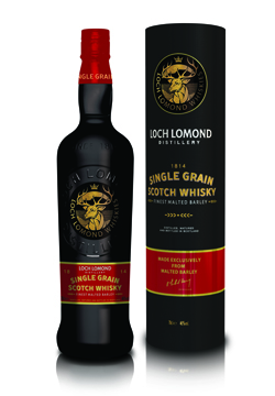 Loch Lomond Single Grain scotch whisky - Loch Lomond Group portfolio