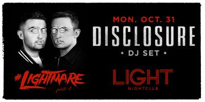 Light Las Vegas Haunted Homecoming & Forbidden Ball - Halloween promotions