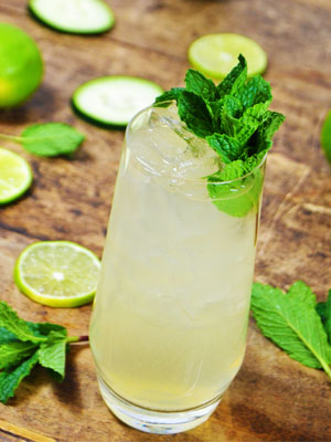 Green Fairy cocktail recipe - National Happy Hour Day food and cocktail recipes