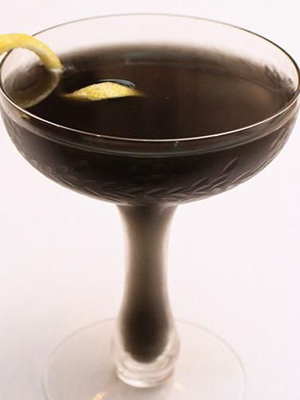 Death Before Dinner cocktail recipe - Black Wednesday 2016 recipes