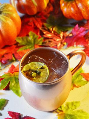 Pump-kick Mule cocktail recipe - Black Wednesday 2016 recipes