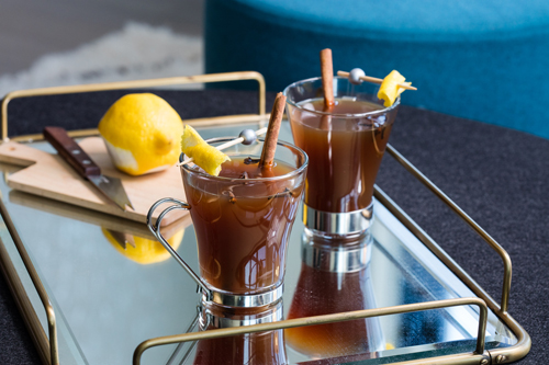 Brandy Bird cocktail recipe - 10 Unique Thanksgiving, fall and winter cocktails