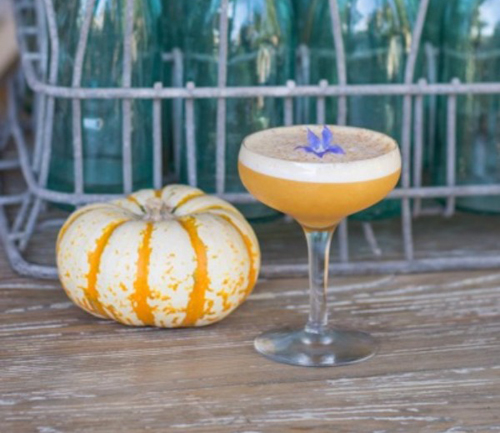 CachaAa Calabaza cocktail recipe - 10 Unique Thanksgiving, fall and winter cocktails