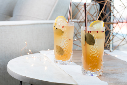 Jingle Bell Gin cocktail recipe - 10 Unique Thanksgiving, fall and winter cocktails