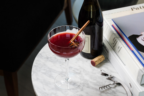 Winter Wine cocktail recipe - 10 Unique Thanksgiving, fall and winter cocktails