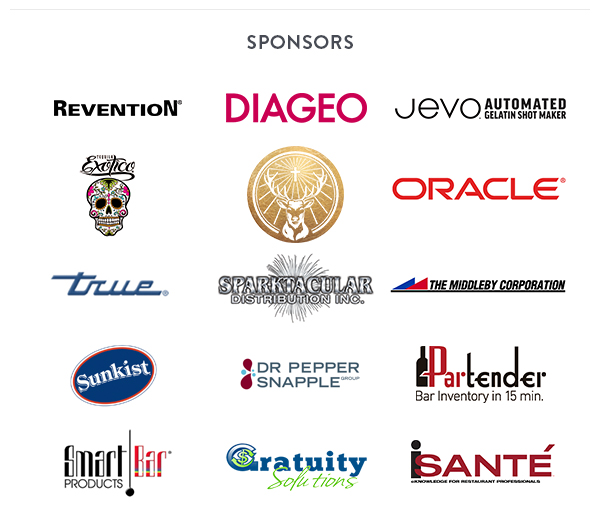 2017 Nightclub & Bar Show sponsors
