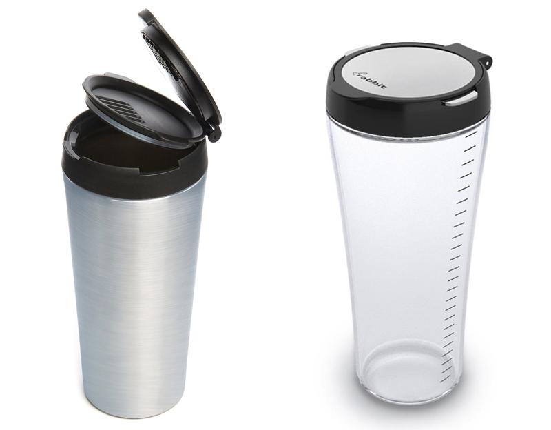 Rabbit All-in-One Stainless Steel or Glass Cocktail Shaker - Cocktail shaker roundup