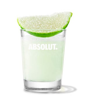 Absolut Lime - Absolut Lime Drop cocktail recipe