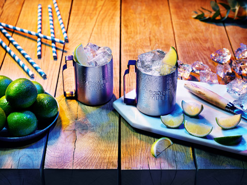 Absolut Lime Mule cocktail recipe - Absolut Lime