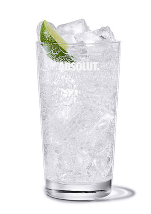 Absolut Lime - Absolut Lime & Soda cocktail recipe