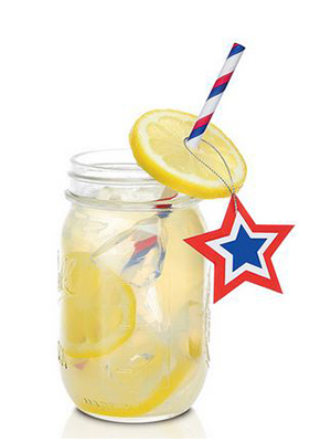 All American Beauty cocktail recipe - Inauguration Day 2017 cocktails