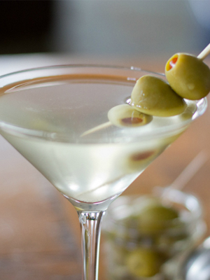 Dirty Martini cocktail recipe - Inauguration Day 2017 cocktails