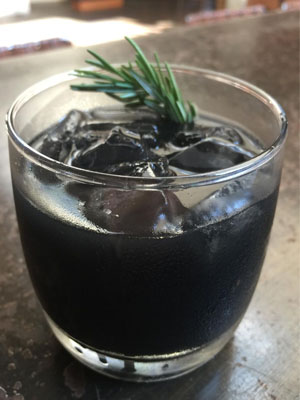 Fade to Black cocktail recipe - Inauguration Day 2017 cocktails
