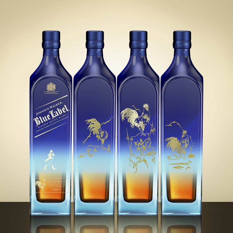 Johnnie Walker Limited Edition Year Of The Rooster Blue