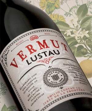 Lustau Vermut vermouth - Nightclub & Bar BottleWatch, February 2017
