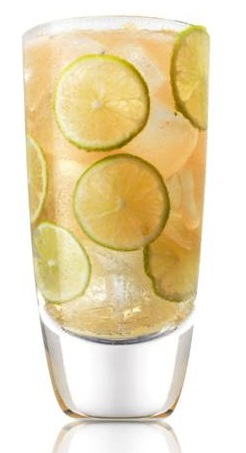 Cali Ginger Lim with Caliche rum