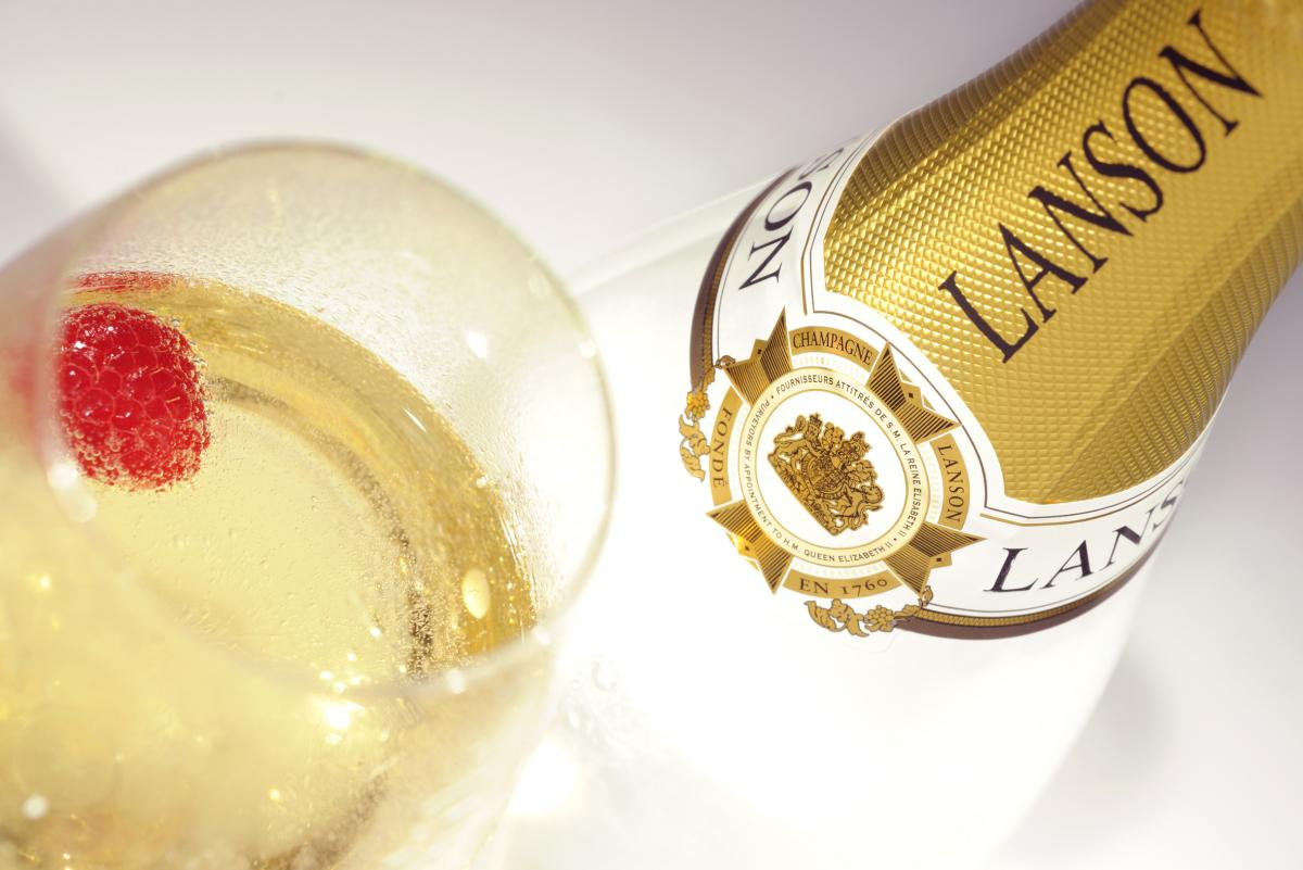 Champagne Lanson White Label