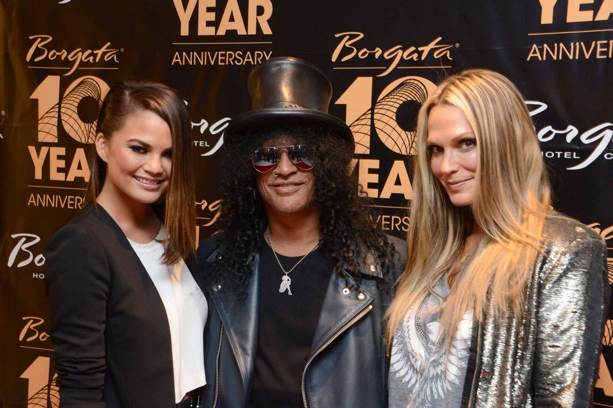 Chrissy Teigan, Slash and Molly Sims