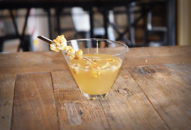 Effen Vodka Salted Caramel Popcorn martini