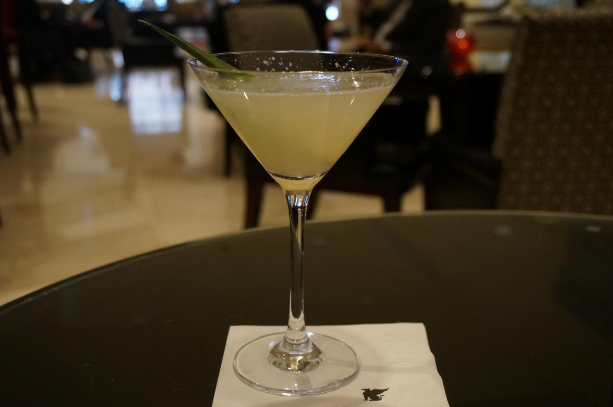 Good Neighbor Policy Cocktail from the JW Marriott Chicago's Lobby Lounge
