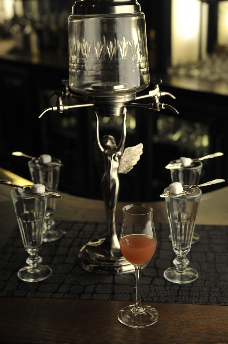 Henri with Absinthe Fountain