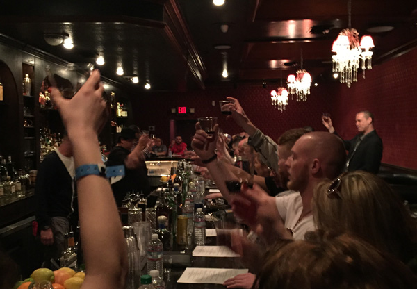 2016 Nightclub & Bar Show - Off-site training at Herbs & Rye with Nectaly Mendoza