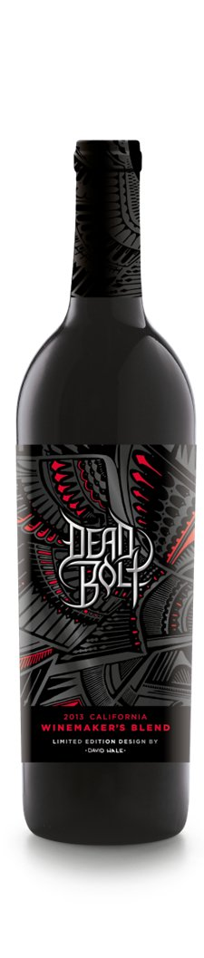 Dead Bolt wine launches limited edition design by tattoo artist David Hale