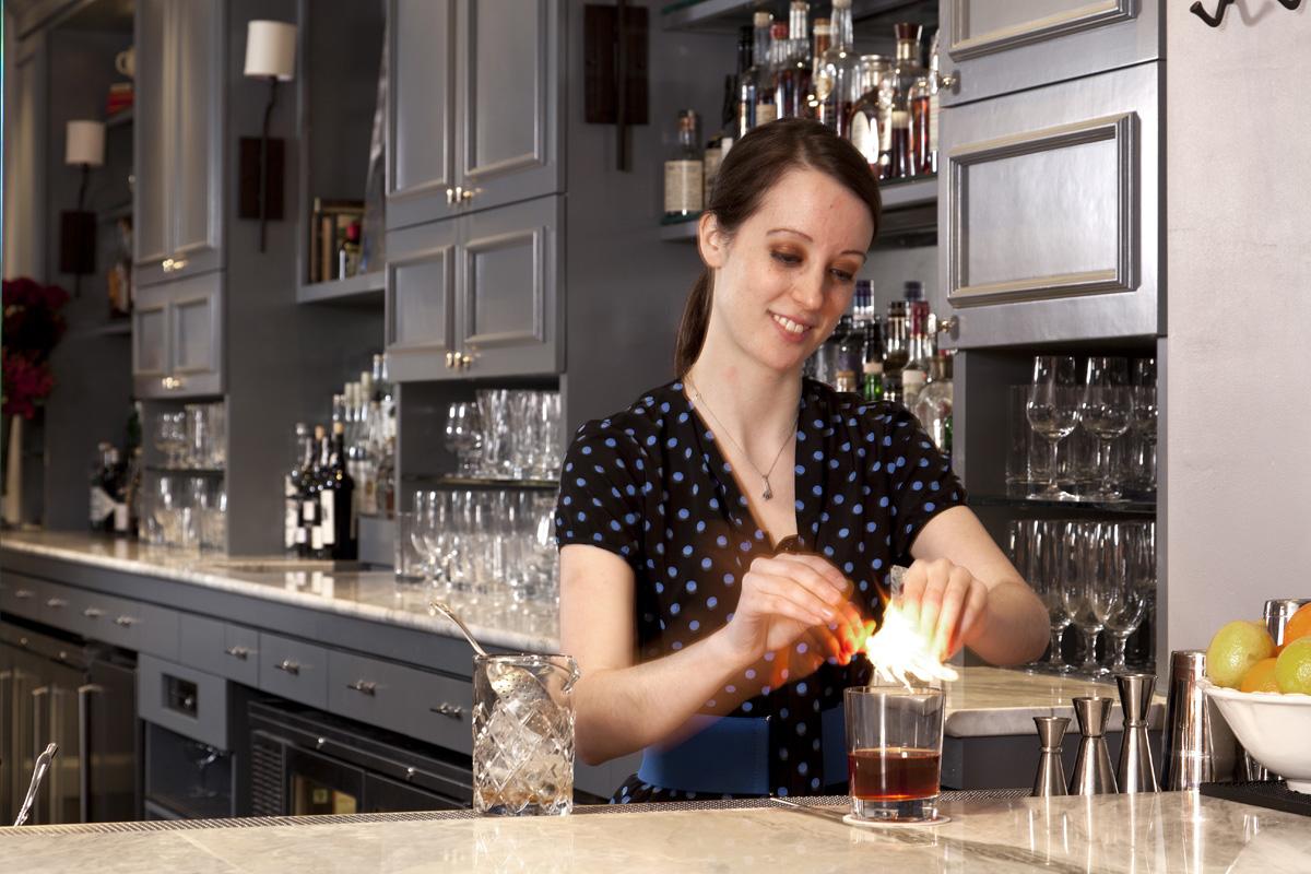 Katie Emmerson, Bartender