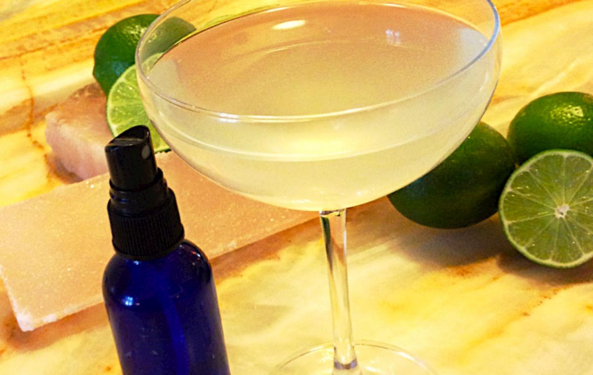 Margarita with Salt Spray
