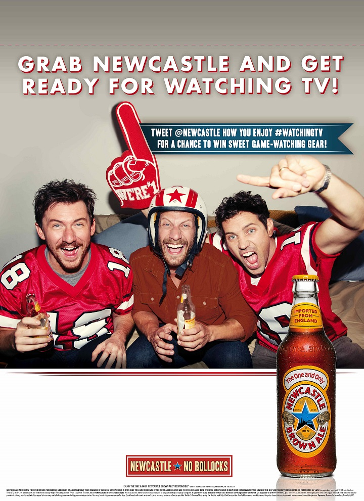 Newcastle Drink The Beer, Get The Gear Fall Program Targets Sports Viewing Enthusiasts