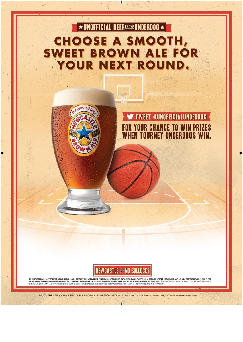 Newcastle Unofficial NBA Beer