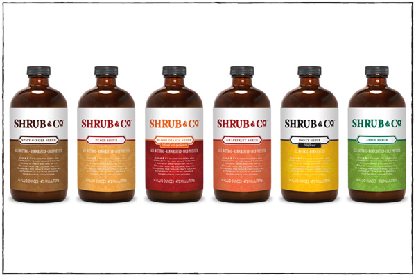 Shrub & Co. flavor lineup - Shrub & Co.