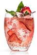 Strwaberry-Basil Rickey