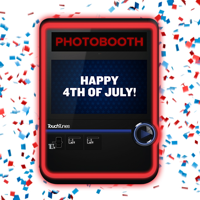 TouchTunes 4th of July Promo