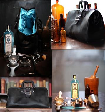 Bombay Sapphire's Bar Bag