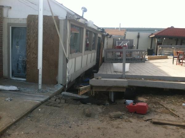 Bungalow Bar After Sandy