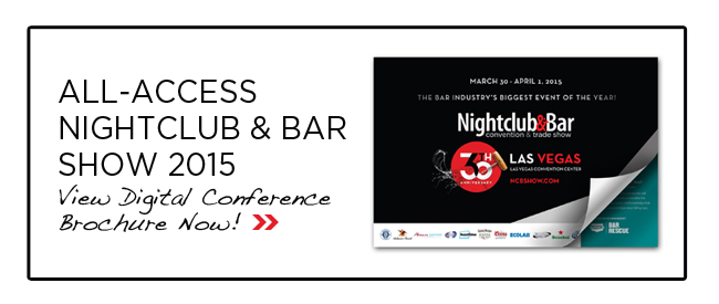 Nightclub & Bar Show Conference Brochure
