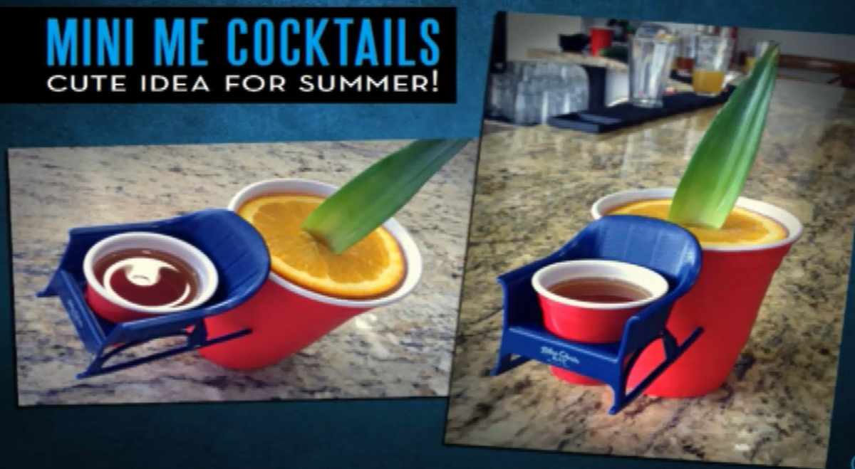Mini Me Cocktail Promotion in Solo Cup