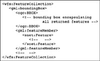Figure 5. This packet snippet illustrates the WFS query response.