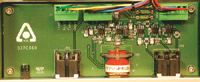 Figure 5. The potentiostat amplifier circuitry is small, with much of the control embedded in the software.
