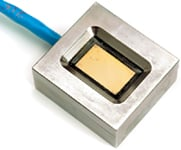 Figure 3. The solid-state ViSmart sensor is designed for inline, real-time monitoring and process control systems.