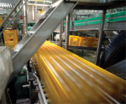 The Ottakringer Brauerei AG in Vienna, Austria, is using the Cognex Checker 101, whose underlying technology is the synchronizing inspection sensor, to guarantee that beer crates and boxes of canned beverages contain the correct amount of product