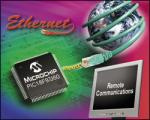 8-bit Microcontrollers with Ethernet from Microchip