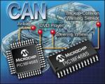 CAN Microcontrollers from Microchip