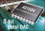 8-Channel 8-Bit DACs from Austriamicrosystems