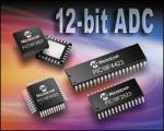 Microcontroller with 12-bit ADC from Microchip