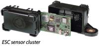 Figure 1. The ESC sensor cluster