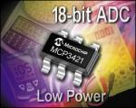 18-bit Delta Sigma ADC from Microchip